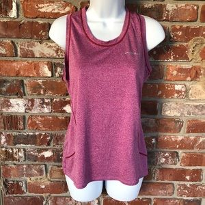 Brooks rose colored tank top size Medium